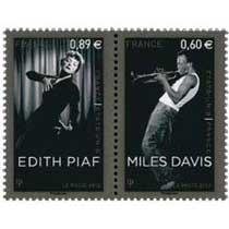 2012 France-États-Unis MILES DAVIS / ÉDITH PIAF