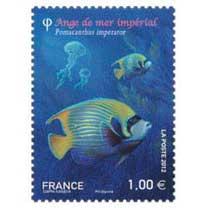 2012 l'ange de mer impérial pomacanthus imperator