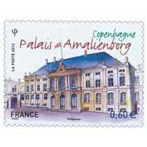 2012 Copenhague palais Amalienborg