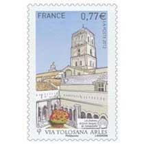 2012 Via Tolosana Arles Les chemins de Saint-Jacques-de-Compostelle