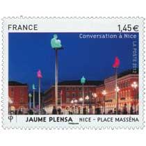 2012 Conversation à Nice JAUME PLENSA NICE PLACE MASSENA