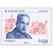 2013 Raphaël Élizé 1891-1945