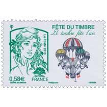 Fête du timbre Le timbre fête l'air