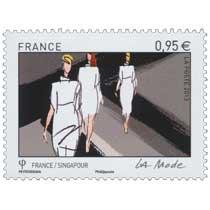 2013 Emission commune France-Singapour - La mode