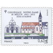 Collégiale Notre-Dame de Melun 1013-2013 Seine-et-Marne