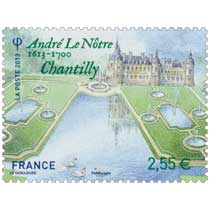 2013 André le Nôtre 1613 - 1700 Chantilly