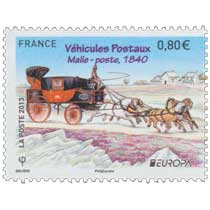 2013 Europa Véhicules Postaux Malle-poste 1840