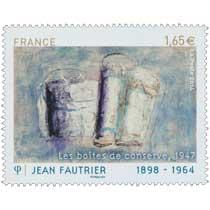Jean Fautrier 1898-1964 Les boîtes de conserve 1947