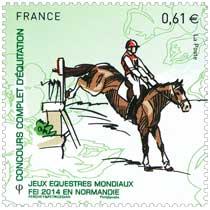 2014 Jeux Équestres Mondiaux FEI en Normandie CONCOURS COMPLET D'EQUITATION