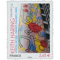 2014 Keith Haring 1958-1990 Hôpital Necker - Enfants malades, PARIS