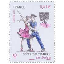 2014 Fête du timbre La salsa