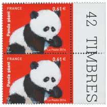 2014 Panda géant