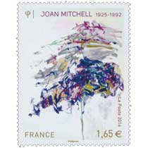 2014 Joan Mitchell 1925 -1992