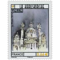 2014 La Karlskirche Vienne