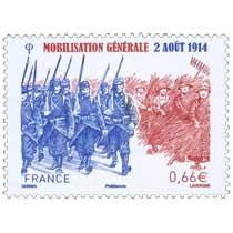 Mobilisation générale 2 août 1914