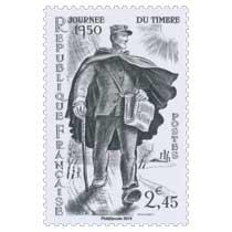 2014 Trésors de la Philatélie JOURNÉE DU TIMBRE 1950