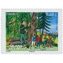 2015 50 ans de l'Office National des Forêts