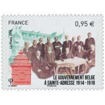 2015 LE GOUVERNEMENT BELGE A SAINTE-ADRESSE 1914-1918