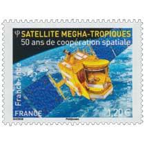2015 France - Inde 50 ans de coopération spatiale - Satellite Megha-tropiques