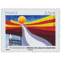 2015 70e anniversaire de la libération des camps de concentration