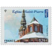 2015 Eglise Saint Pierre - Riga