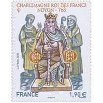 2015 Charlemagne roi des francs Noyon - 768