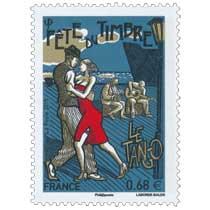 2015 Fête du timbre Le Tango