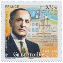 2015 France - Mexique Gilberto Bosques 1892-1995