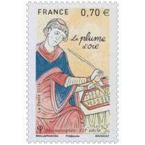 2016 La plume d'oie - Moine copiste XIIe siècle
