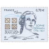 2016 Sophie Germain (1776-1831)