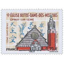 2016 Église Notre-Dame-des-Missions -  Épinay-sur-Seine - Seine-Saint-Denis