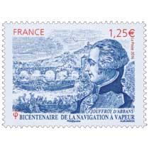 2016 JOUFFROY D'ABBANS - Bicentenaire de la navigation à vapeur