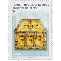 2016 France - République de Corée Reliquaire dit de Pépin