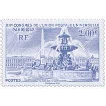 2016 XIIe Congrès de l'Union Postale Universelle