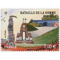 2016 BATAILLE DE LA SOMME 1916-2016