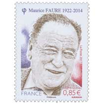 MAURICE FAURE 1922-2014