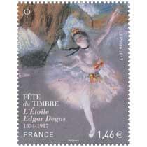 2017 Fête du timbre - L'Étoile d'Edgar Degas - 1834-1917