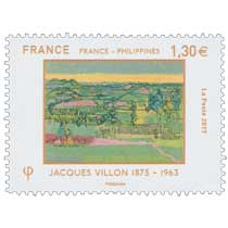 2017 France - Philippines - Jacques Villon 1875 - 1963