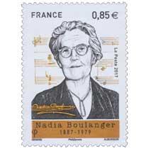 2017 Nadia Boulanger 1887 - 1979