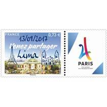 2017 Venez partager - Paris ville candidate aux jeux Olympiques de 2024 - Lima