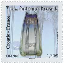 2018 Croatie - France -  Vase Antonija Krasnik