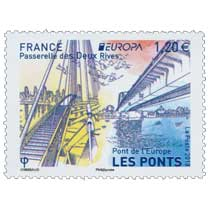 2018 Passerelle des Deux Rives - Europa - Pont de l'Europe - Les ponts
