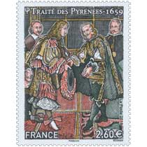 2018 Traité des Pyrénées - 1659