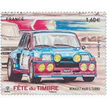 2018 Fête du Timbre - Renault maxi 5 turbo