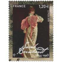 2018 Sarah Bernhardt 1844 - 1923