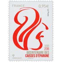 1818 2018  Bicentenaire des Caisses d'Epargne