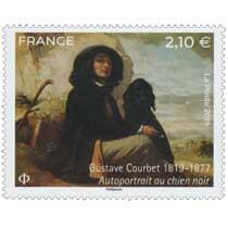 2019 Gustave Courbet 1819-1877 - Autoportrait au chien noir