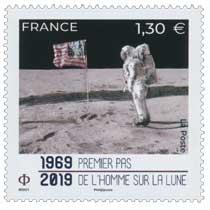 1969 - 2019 Premier pas de l'Homme sur la Lune