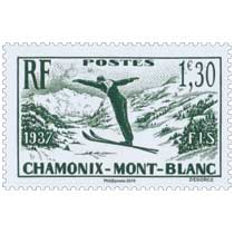 2019 Patrimoine de France - 1937 FIS CHAMONIX-MONT-BLANC