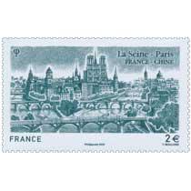 2020 La Seine - Paris  France - Chine